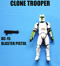 Star Wars Attack of The Clones Green Clone Trooper Army Builder! Action Figure!