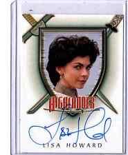 Highlander A7 Lisa Howard auto card