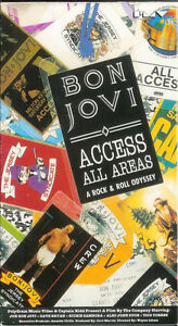 BON-JOVI-Access-All-Areas-VHS-Tape-SIGNED-AUTOGRAPHED-and-SEALED-Last-One-RARE