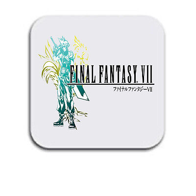 Final Fantasy Cloud strif Chocobo FF7 Coaster Mothers Day Xmas Fathers Day Coast