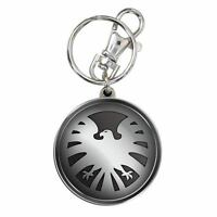 Avengers Shield Eagle Logo Pewter Key Chain
