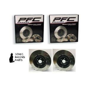 376.049.63 + 376.049.64 V3 376 Discos Frenos PFC para Nissan R35 GT-R 2008 2011