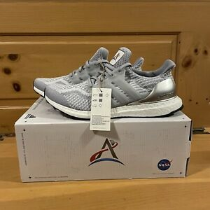 Details about Adidas x NASA Men's UltraBoost 5.0 DNA FX7972 Halo Silver Shoes Size 9