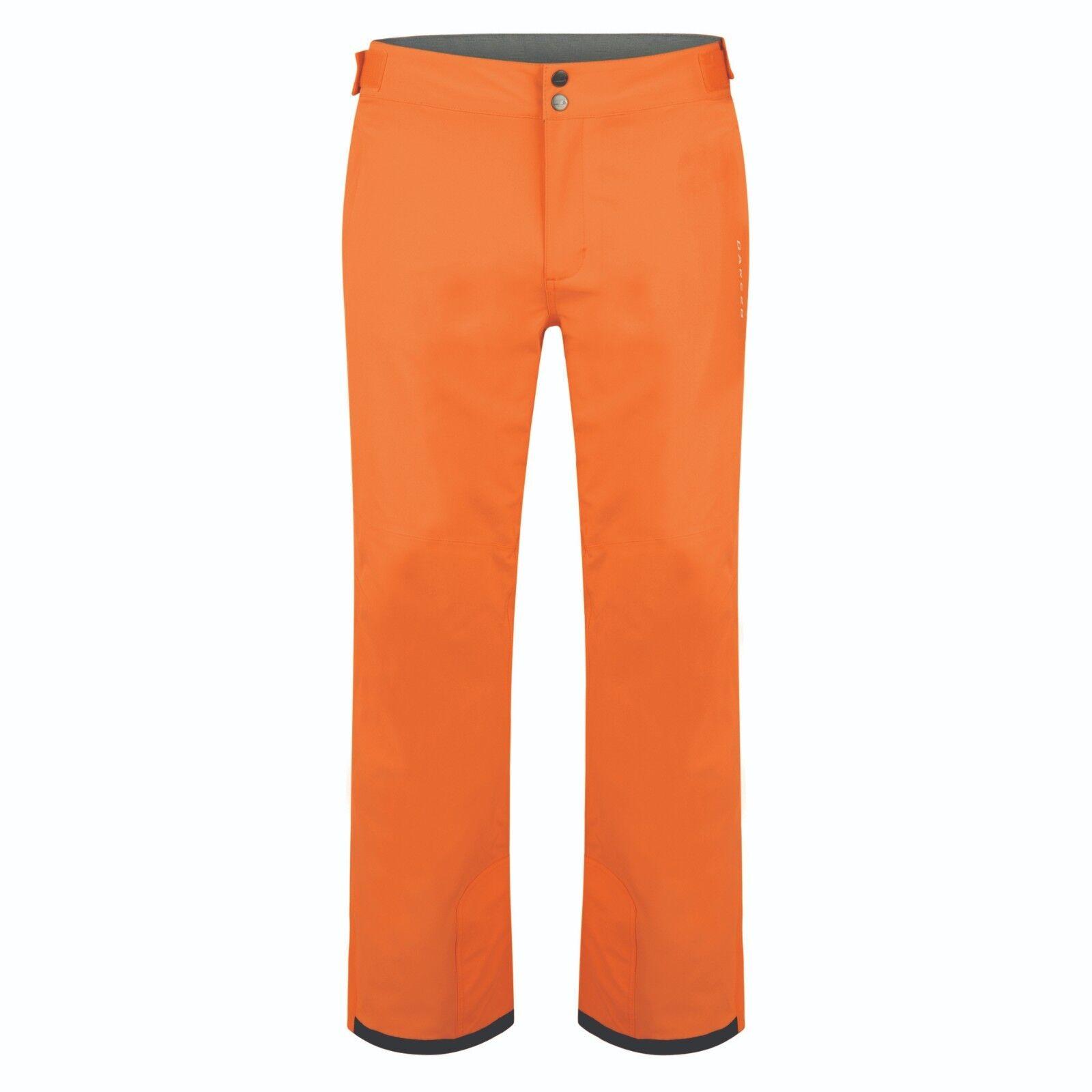 DARE 2B CERTIFY II SKI PANTS SALOPETTES WATERPROOF VIBRANT orange SHORT LEG