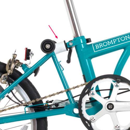 Schraube /& Scheibe Neu Brompton B75 Aufhängung Block Set Inkl Weiß