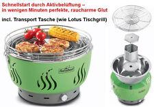 Tischgrill - Rauchfrei mit Lüftung Holzkohle Grill Florabest (wie Lotus)Balkon