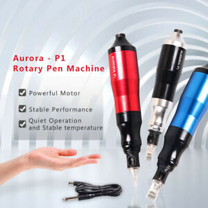 Details About Aurora P1 Rotary Tattoo Pen Machine Powerful Motor 77 3016 010506