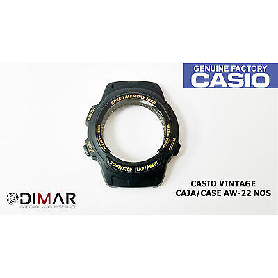 VINTAGE CASE/CAJA  CASIO AW-22 NOS