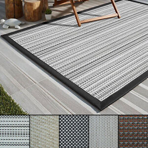 Image Is Loading Outdoor Rugs Carpet Flooring Modern Waterproof Runners Balcony