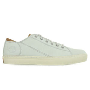 chaussures cuir blanc timberland