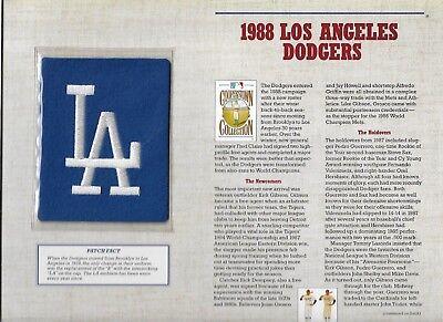 Sport Clever 1988 Los Angeles Dodgers Willabee & Ward U.s Cooperstown Sammlung Auswahlmaterialien Weitere Ballsportarten