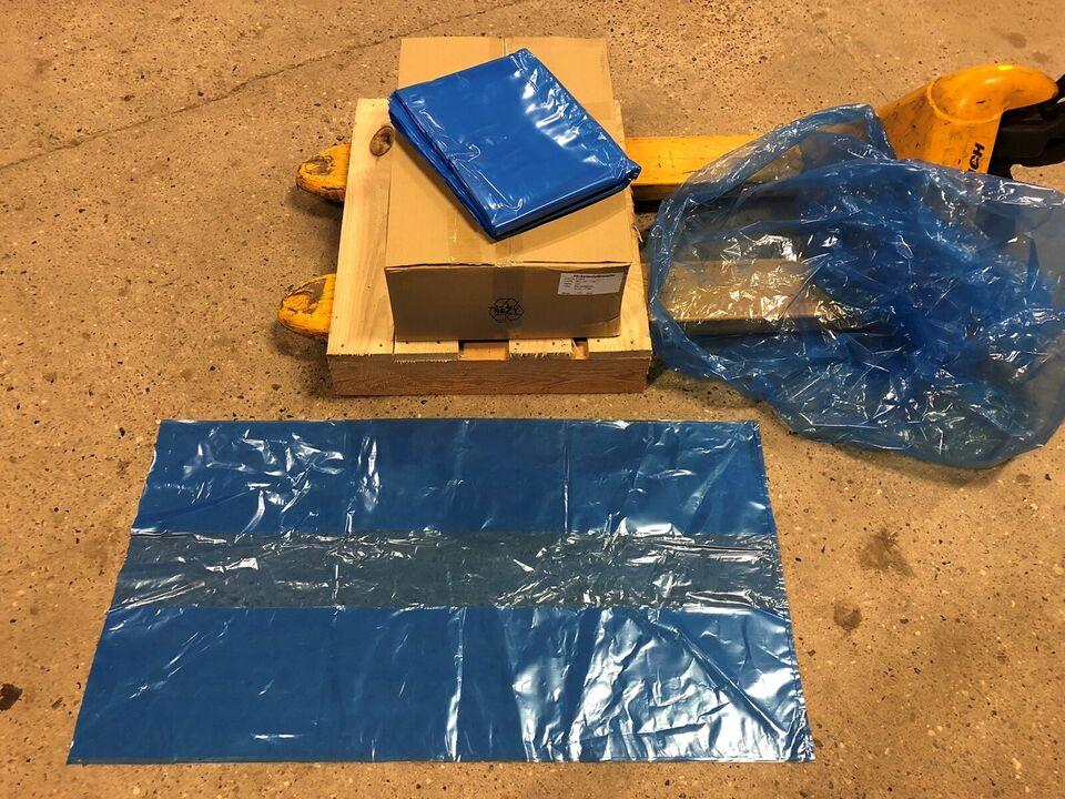 Affaldssække, plastikposer, store klare sække
