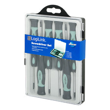 Brand New LogiLink wz0021 Screwdriver Set-Heads of steel for Precision Work