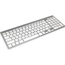 iHome IMACK130 Wireless Bluetooth Keyboard For Macs (Silver/White)