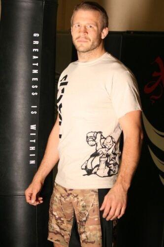 Desert Tan USAC MMA Modern Army Combatives Fight Shirt MACP