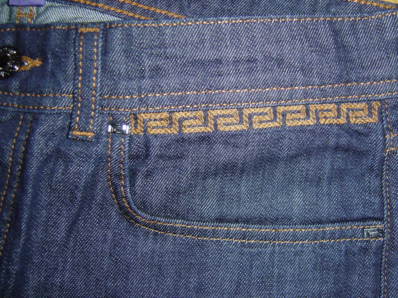 VERSACE for h&m JEANS Cruise collection Pants Pantaloni Pantaloni Pantaloni Dimensione Dimensione w34 NUOVO NEW ef3c18