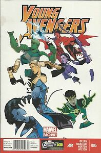 Young-Avengers-Comic-Issue-5-Modern-Age-First-Print-Marvel-Gillen-Norton-Wilson