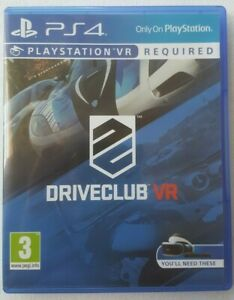 DRIVECLUB VR Video Game for Sony PlayStation 4 PS4 Pegi 3 (PSVR Req'd, Not Inc.)