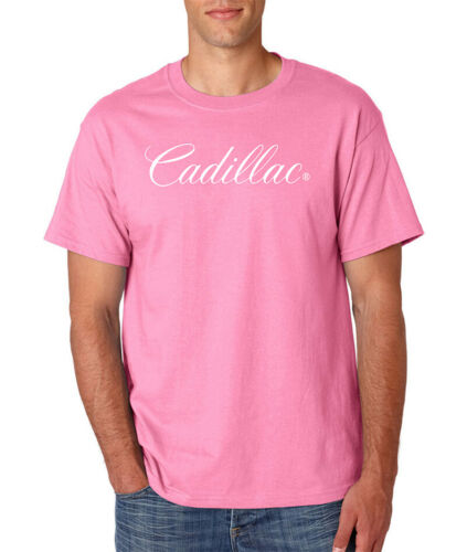 CADILLAC Logo T-Shirt Caddy Escalade CTS GM General Motors Luxury Car S-6XL Tee