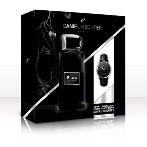 Parfum Montre Hechter Black 100 Daniel Couture De Ml Eau Coffret iPukZX