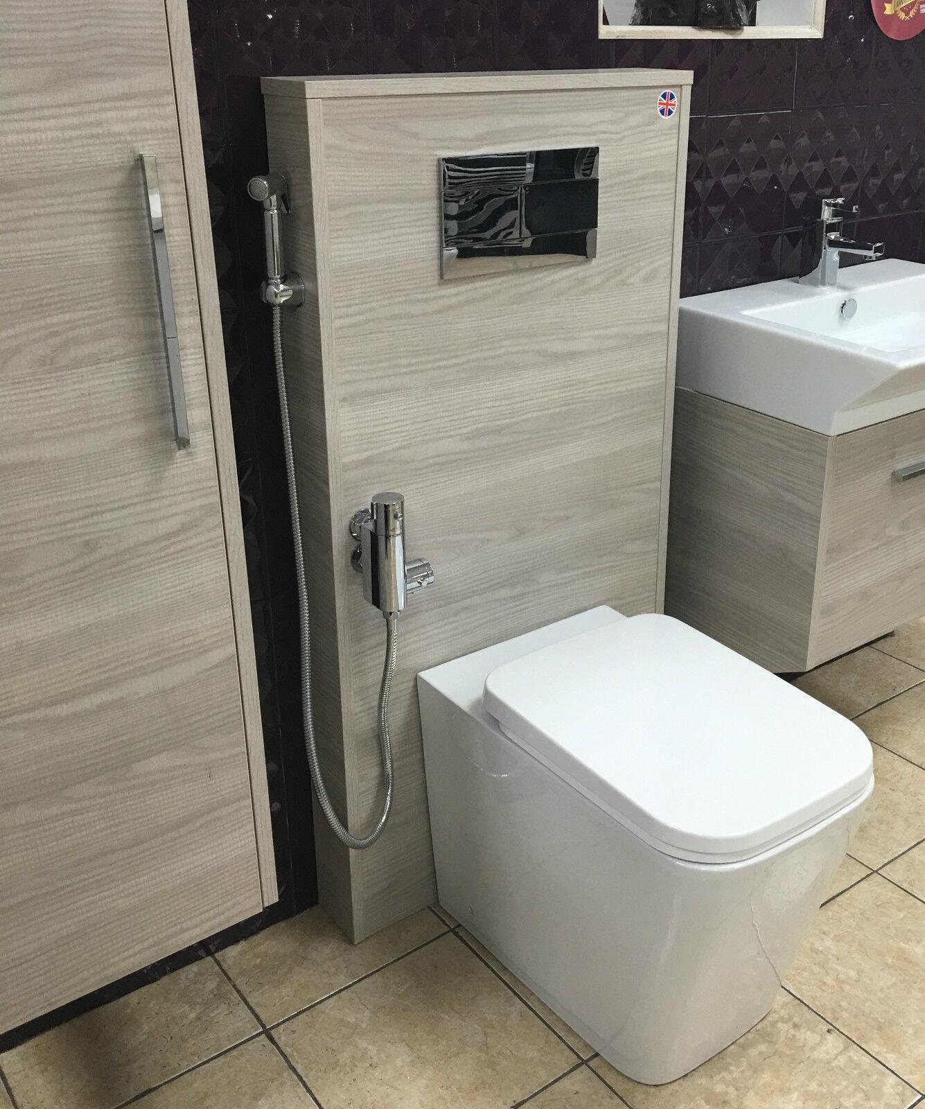 CG astur Salle De Bains Meubles 600 mm BTW Slim Unité et Citerne avec-out Toilette