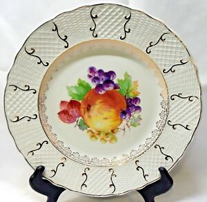 Simpsons-Potteries-England-Marlborough-Old-English-Ironstone-Dinner-Plate