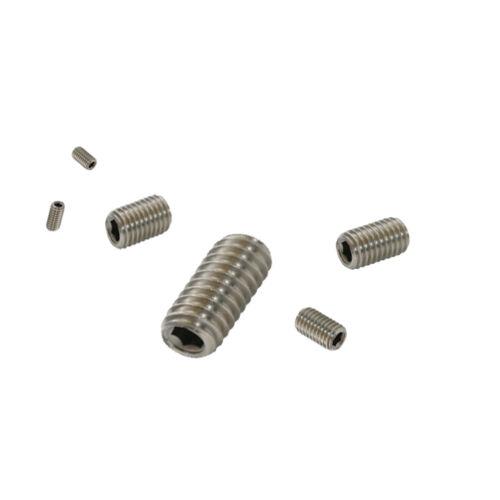 A2 Stainless Steel M3 M4 M5 Grub Screws