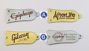 Metal-Truss-Rod-Cover-Free-Custom-Engraving-Choose-Style-and-Color