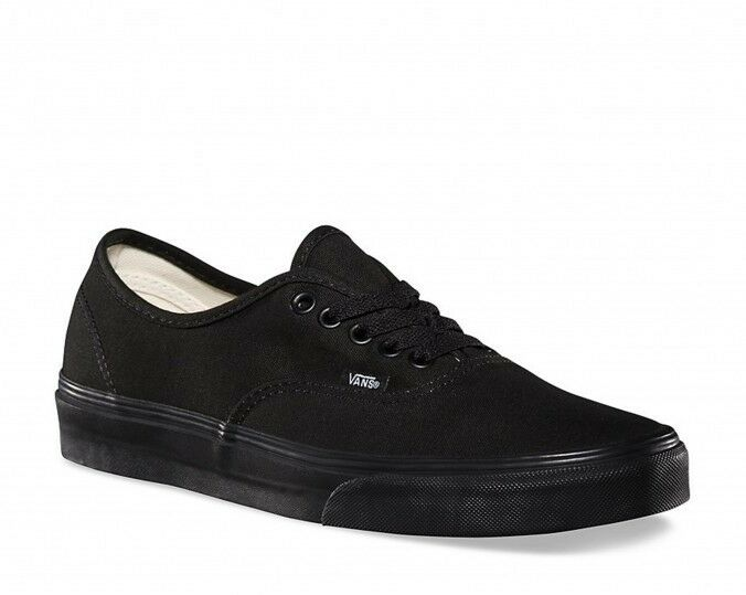 Vans Authentic shoes (Black Black) VEE3BKA Official UK Vans Stockist