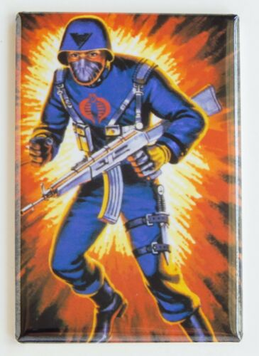Cobra Officer FRIDGE MAGNET gi joe real american hero