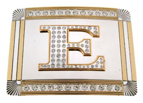 Initial a z  Belt Buckle Letter Alphabet Monogram Men Women Cowboy Cowgirl Rodeo