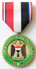 US OPERATION IRAQI FREEDOM COMMEMORATIVE MEDAL Makers Mark P-30