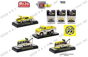 MiJo Exclusives 3 car set M2 Machines 1:64 Mooneyes Assortment