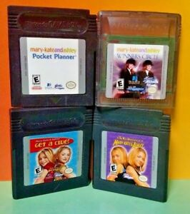 Mary-Kate-and-Ashley-4-Game-Lot-Bundle-for-Nintendo-Game-Boy-Color-GBC