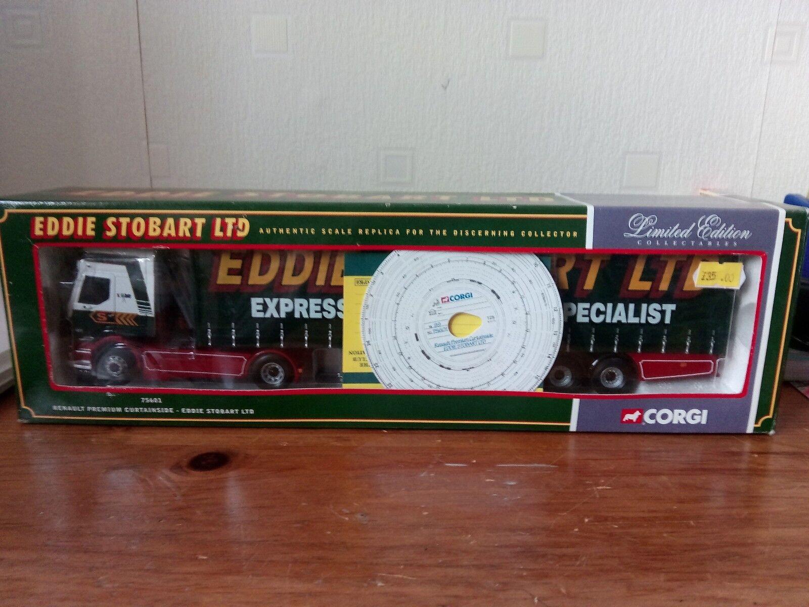 CORGI 75601 EDDIE STOBART LORRY
