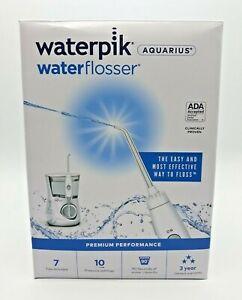 Waterpik, Aquarius Electric Water Flosser, WP-660 White