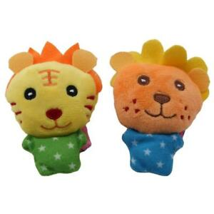 Baby-Toys-Animal-Wrist-Strap-Foot-Socks-Soft-Infant-Wrist-Rattle-Socks-Bell-DD
