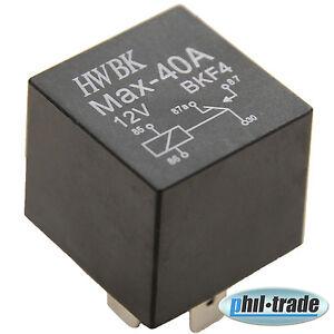 1-Stueck-Wechsel-Relais-JD1914-BKF4-12V-40A-5-polig-umschalt-PKW-30-85-86-87-87a
