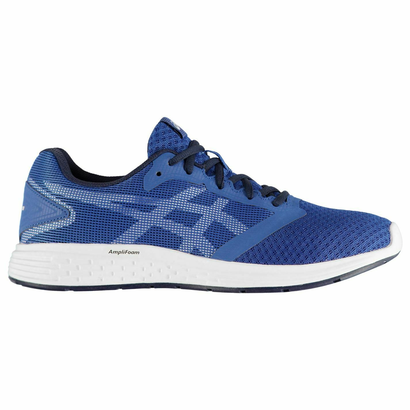 Asics Patriot Sneakers Mens Gents Runners Laces Fastened Mesh Upper