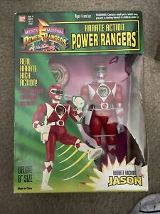"""Mighty Morphin Power Rangers 8"""" Karate Action Red Ranger"""