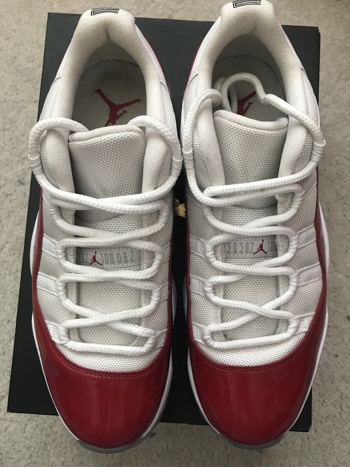 Nike Air Jordan 11 Low Cherry Red Size 10 good condition worn 2