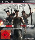 Ultimate Action Triple Pack (Sony PlayStation 3, 2014, DVD-Box)