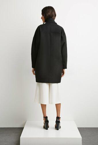 Great Moderne Divid label Sort Coat Forever21 Minimalistisk femte Den vzatxw7qS