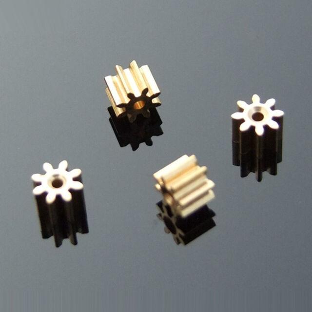10pcs 8T-56T Teeth 0.5 Modulus DIY Spindle Plastic Gear Toy Car Motor Gearbox