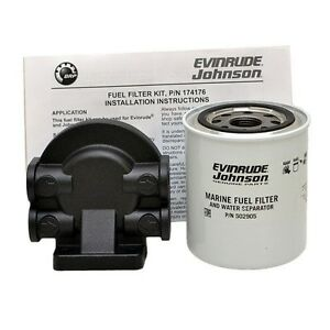 johnson fuel filter wellcraft evinrude johnson 0174176 oem boat omc fuel ...