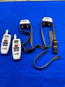 2x-Free-Spirit-FS-TRN-Remote-Trainer-Waterproof-Rechargeable-Dog-Collar