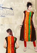 INDIAN DESIGNER HEAVY RAYON KURTI XL SIZE