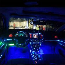 Car Auto Interior Led Decor Wire Strip Atmosphere Cold Light Blue Universal Fits 2012 Jeep Patriot