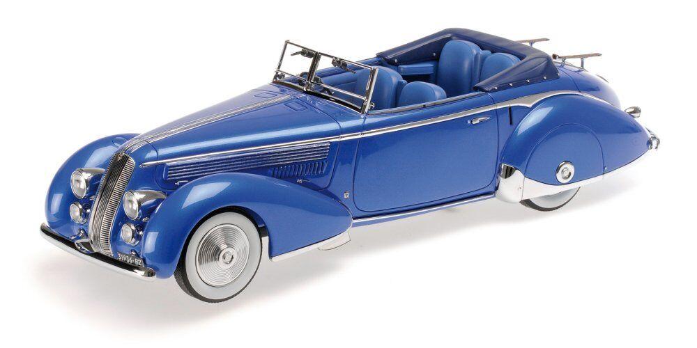 Lancia Astura 233 Corto 1936 bleu  1 18 Model 107125331 Minichamps  meilleure réputation