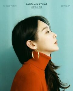 DAVICHI-KANG-MIN-KYUNG-1st-Solo-Album-CD-POSTER-Photo-Book-K-POP-SEALED